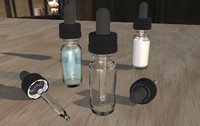 Eye Drop Dropper Vape Bottle