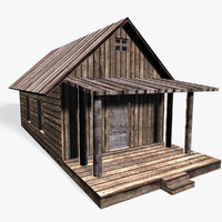 3d x old cottage