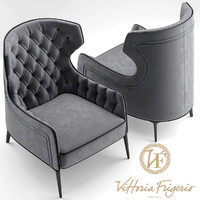 3d model chair armchair vittoria