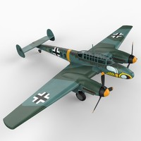 purchase aircraft messerschmitt bf 3d lw