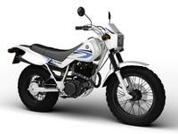 Yamaha TW200 2012