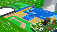 3ds ball games package sport