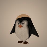 3dsmax pingvinue pingvin