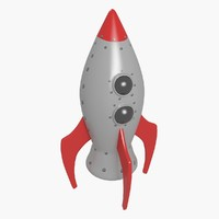Toy Space Rocket