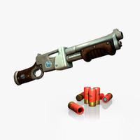 Shotgun Pump action