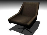 3ds armchair swivel