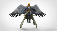 3d figures medieval fantasy model