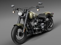 Harley Davidson Softail Slim S Army Design 2016