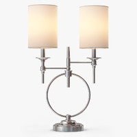 3d model circa table lamp