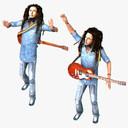 Rastafarian 3D models
