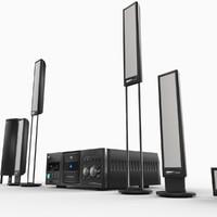3d audio system model