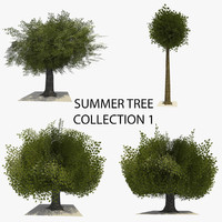 3d 3ds 4 trees summer version