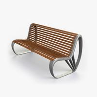 bench luigi 3d model