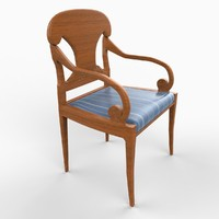 3d english chair furniture