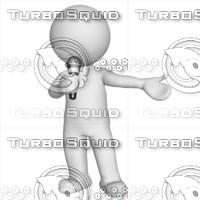 3D Man singing 1
