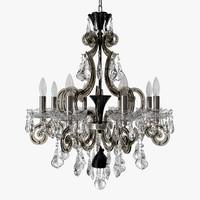 3d schonbek - cappela chandelier