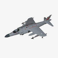 3ds max bae sea harrier fa2