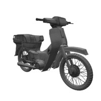 2 motorcycle dream 3d model