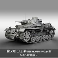 pzkpfw g - panzer 3d 3ds