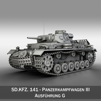 pzkpfw g - panzer 3d c4d
