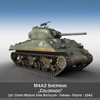 M4A2 Sherman - Colorado