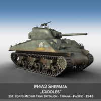 M4A2 Sherman - Cuddles