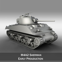 M4A2 Sherman - Medium Tank