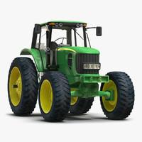 tractor john deere 7330 3d max