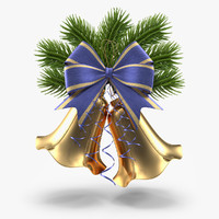 3d max christmas bell