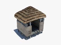 3d barn ancient