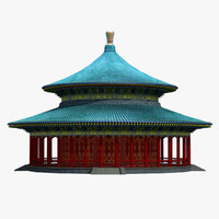 chinese building 2 3d model