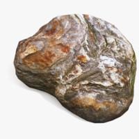 asset stone 3d 3ds