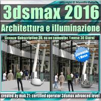 3ds max 2016 Architettura e illuminazione vol 55 1 Mese Subscription