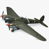 3d model heinkel 111