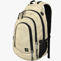 backpack clothing characters obj