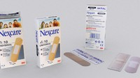 Nexcare Plasters with Box 1