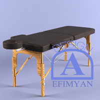 massage table 3d c4d