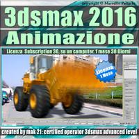 3ds max 2016 Animazione. volume 5.0 Italiano 1 Mese Subscription