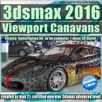 3dsmax 2016 Viewport Canavans Vol 53 Italiano 1 Mese Subscription