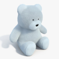 3d realistic teddy bear model
