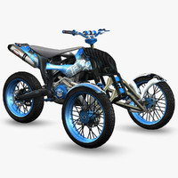 ready trike - 3d 3ds