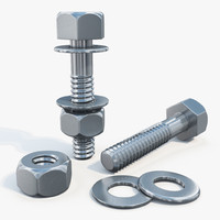 Bolt and Nut 01