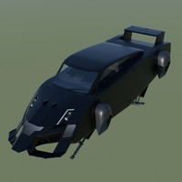 maya flying fictional car
