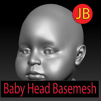 3d model baby basemesh base