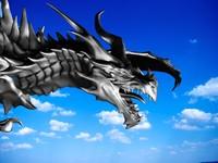 Alduin dragon from Skyrim