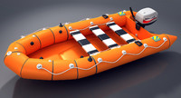 Zodiac Ribo 420 Save Boat