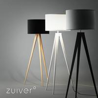 3d model tripod lamp