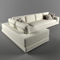 3d plat arketipo sofa model