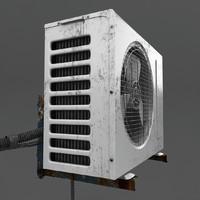 old exterior 3d max