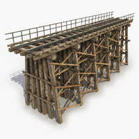 Modular Wooden Railway Bridge 2